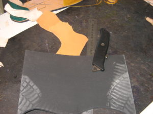 Material para el corte de cuero y suela