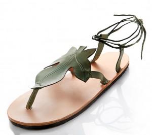 Sandalias diseñadas por Artcuero