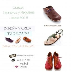 Cursos de calzado, sandalias, zapatos, botas