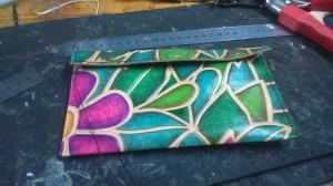 cartera cuero color y tintas 2