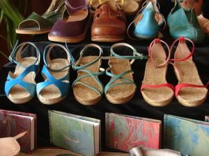 Sandalias de cuero artesano