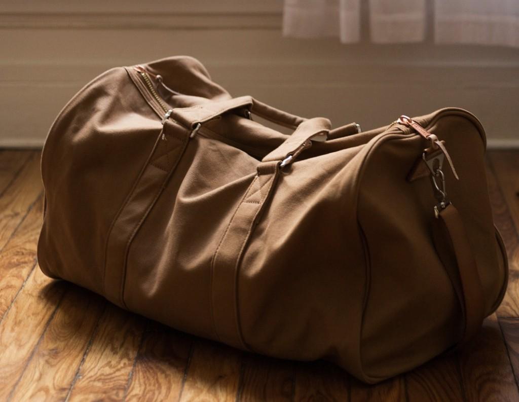 maleta piel