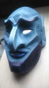 mascara cuero teatro caronte artcuero