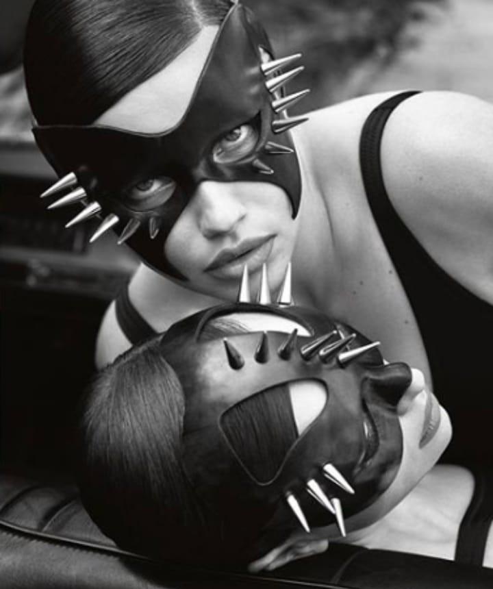 mascaras de cuero